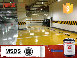 Epoxy resin high build epoxy paint epoxy floor coating for warehouse floor paint