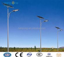 100W Led lamp 12M high outdoor street light , solar street light galvanized powder coated pole
