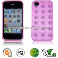 Traditional Textile TPU case for iphone4/4S with high quality