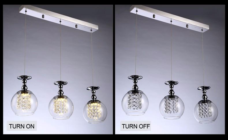 Diseño moderno de la lámpara de iluminación hogar creativo ...