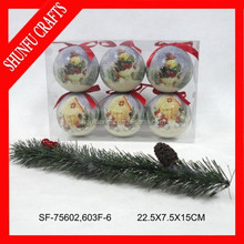 polyfoam Christmas ball popular sale 6 person led christmas ornament
