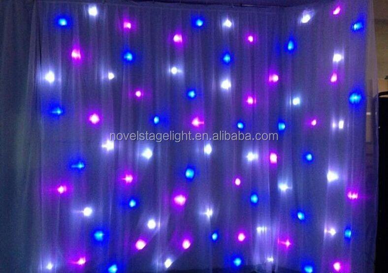 ... flash LED light star curtain wedding decoration LED star curtain light
