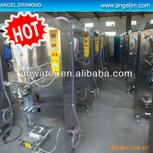 Water/juice/milk sachet filling line