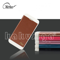 Guangzhou manufacture flip leather case ultra slim android smart phone