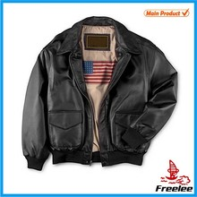 Air Force leather jackets for men,man leather jacket