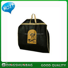 New design top sell dry cleaning non woven garment bag