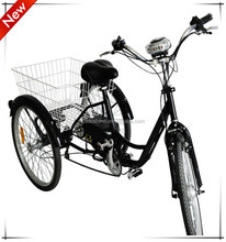 CE Adult loading electric motorcycle trike for shopping