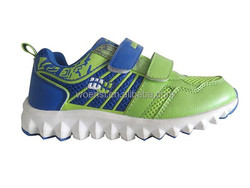 best selling popular boys velcro running shoes