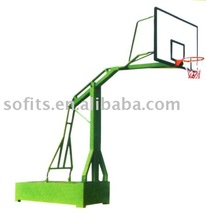 Portable Basketball System Imitated Hydra Pressure Basketball Shelf with Basketball Goal