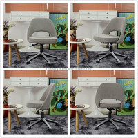 high quality modern design fabric swivel lift chair