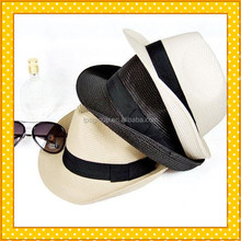 Cheap Mens Straw Hats Manufacturer From China,Fedora Straw Hat Custom Factory