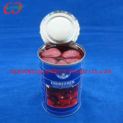 Canned fresh strawberry in ls 0.41kg