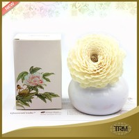 OEM reed wooden flower china diffuser gift sets for home decoration