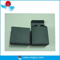 Black Kraft Folding Paper Gift Boxes Accept Custom Design