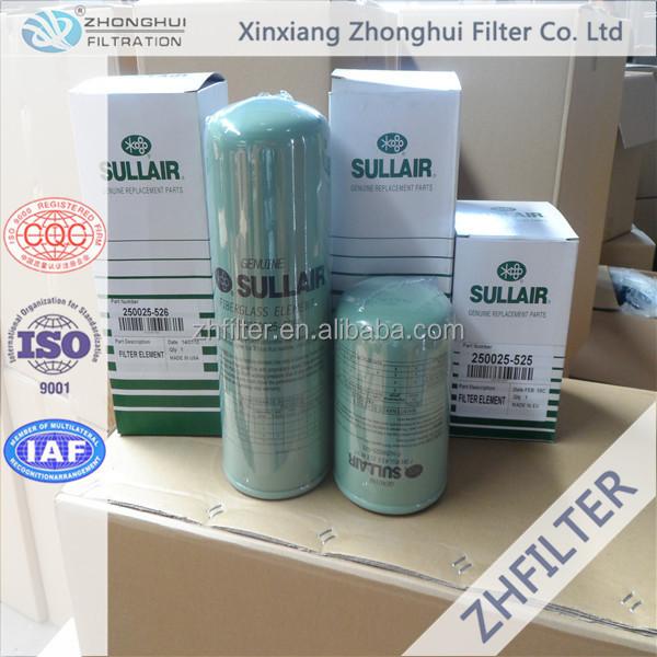 Sullair compressor oil filter element 02250109-319