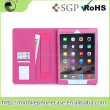 2015 Multi Functions PU Leather Smart Tablet Case For IPad Air For IPad 6