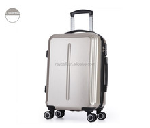 """20"""" 24"""" ABS + PC travel trolley luggage universal wheeled bag for children men women"""