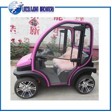 two seats of electric car/mini car