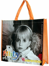 full print adventised non woven shopping tote bag