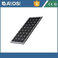 2015 Arosi Home use poly/mono solar panels 18V 90W solar modul canadian solar, solar panels for home