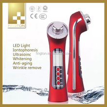 2015 Hot Sale mini electric massager ultrasonic facial machine EMS device