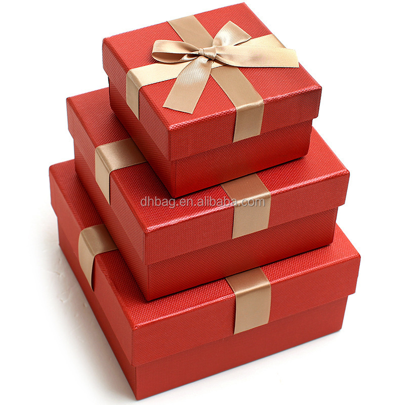 Boxes packaging wholesale jewelry paper gift box high quality gift box