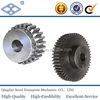 M4 SS4-45 Custom material C45 standard size precision transmission cast iron spur gear