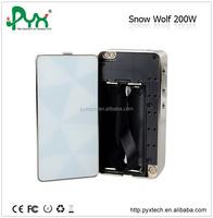 Stock offe!!!Hot new products for 2015 snowwolf 200w mod huge wattage Original Snowwolf Box Mod 200 watt Snow Wolf 200w box mod