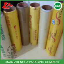 professional factory for food grade pvc cling flim fresh film,supplier of stretch cling film pvc food wrap film food packaging