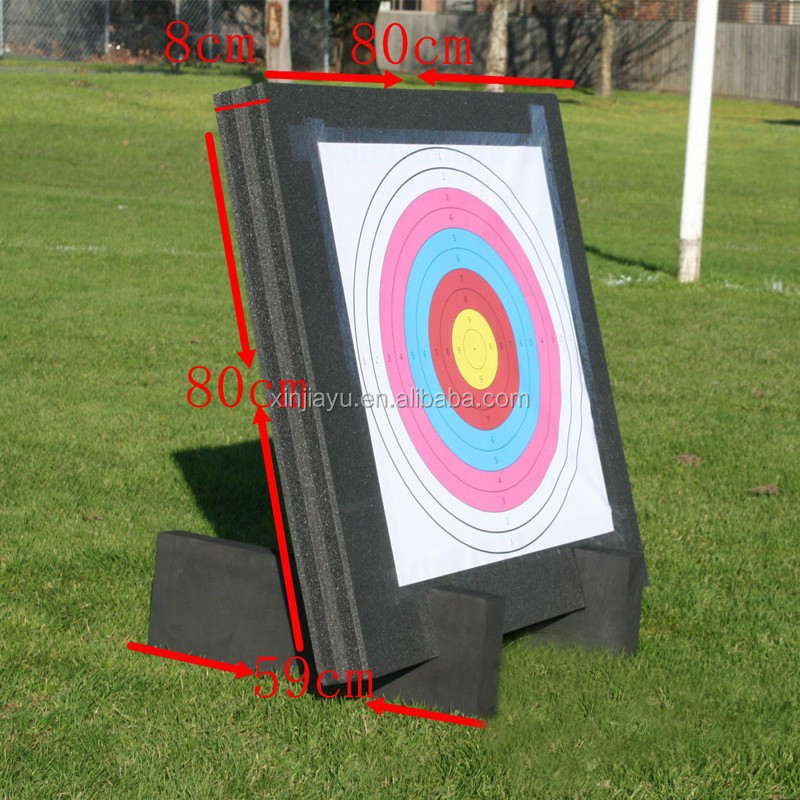 how to make a 3d foam archery target