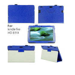 Universal PU Leather Folio Stand Case Cover Tablet keyboard case for Amazon Kindle Fire HDX 8.9 Tablet case