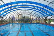 Para cubrir la piscina para cubrir la piscina