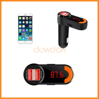 New Promotion Gift Car USB Flash Mp3 Player FM Transmitter and Dual USB Car Charger