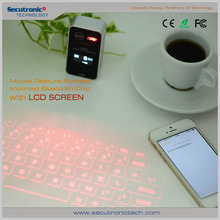 Mobile Phone Android 4.4 Qwerty Keyboard,USB Interface bluetooth virtual laser projection keyboard