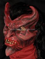 MSK_1_1_00068 Devil Care Latex Rubber Halloween Party Masks