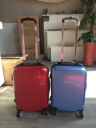 2015 new customised suitcase creative VIP luggage hard shell pure color luggage