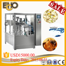 High Accuracy good price rotary premade Gusset Bottom Bag counting full automatic pistachio Nuts Carousel type packer