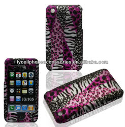 Protective Snap-on Case For Iphone 3G 3GS Zebra Design Skin Covers