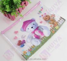 Cute cartoon pencil case,docutment case
