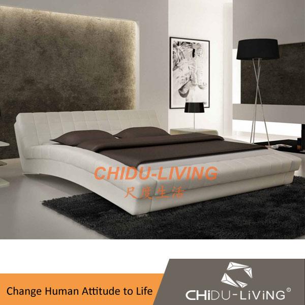 Modern luxury home muebles de dormitorio camas de madera maquetas ...