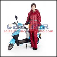 Plastic factory direct sale motorcycle raining suit