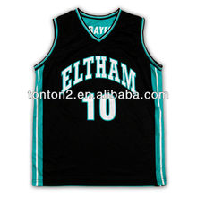 2013 hot selling custom sublimation basketball uniforms for school