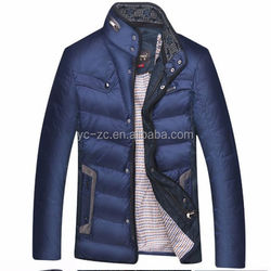2015 latest man goose down jacket winter jacket for motorcycle