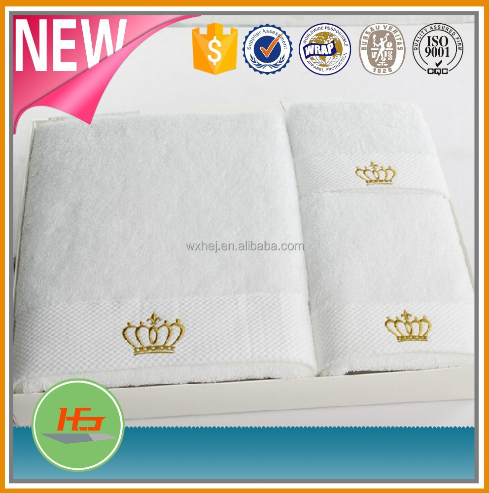 Wholesale Solid Color Cotton Bath Towels Beach Towels With