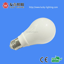 Ceramic & Glass Cover 7W E27 LED bulb 360 degree