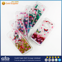 [NP-2427] OEM Beautiful BLING BLING Quicksand PC Case for Samsung for Galaxy S6 edge G925F G925A G925FQ G925I