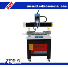 china mini cnc milling machine for metal copper aluminum ZK-6060 600*600mm