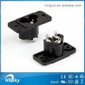 de alta calidad industrial pa66 receptáculos eléctrico