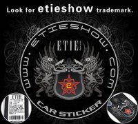 Наклейки Etieshow GTI sticker\Guaranteed 100%\Stereo feeling\customize\League\Standard