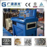 Compact design metal crafts laser cutting machine easy to install